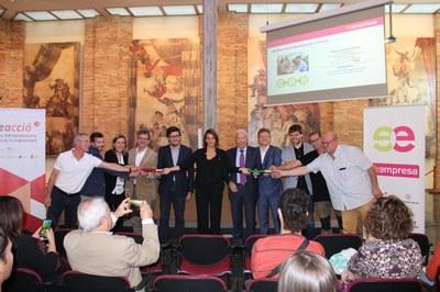 El Sucre de Vic aplega a un centenar d'empresaris i emprenedors per conèixer la Reempresa