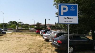 Entra en funcionament un nou aparcament municipal gratuït al barri del Remei