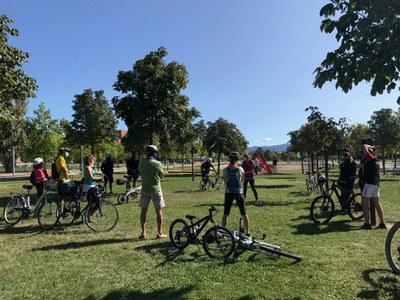 Les caminades i la bicicletada pedagògiques protagonitzen la Setmana Europea de la Mobilitat a Vic