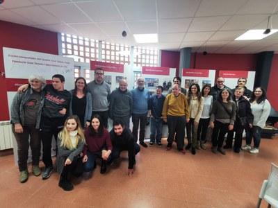 Primer any de gestió conjunta del Centre Cívic Santa Anna amb Sant Tomàs