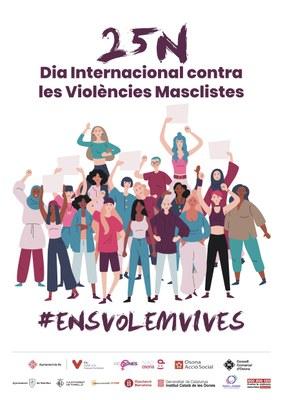 Vic promou diferents actes entorn el Dia Internacional contra les Violències Masclistes