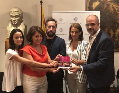 Vic, una punta de llança dels municipis catalans contra les violències sexuals.