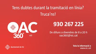 Iniciar OAC 360º, el nou servei d'assessorament telemàtic