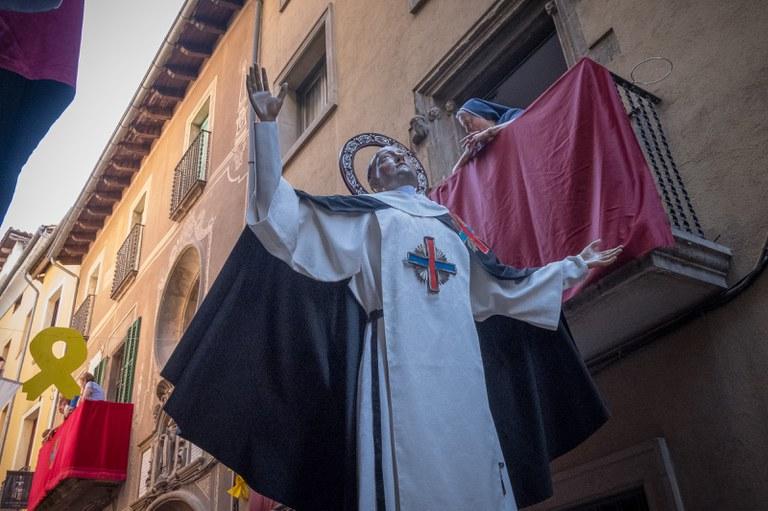 Postular el seguici de Sant Miquel dels Sants com festa tradicional d'interès nacional